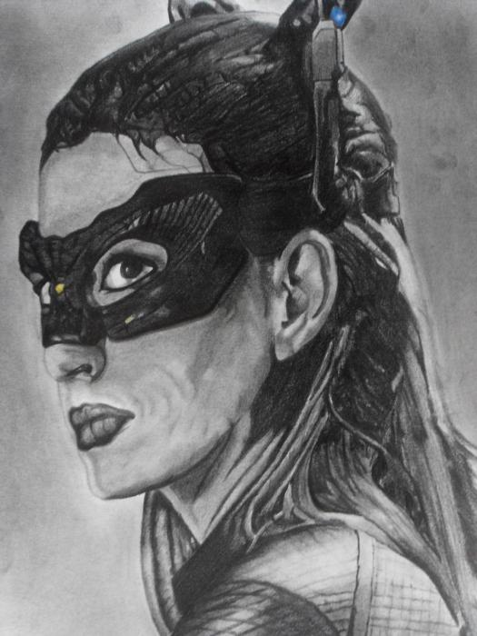 Anne Hathaway by Erwan